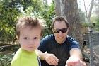 Brady and Atticus at Zoo