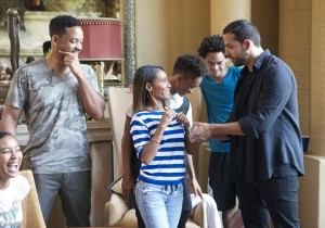 WILL SMITH, JADA PINKETT SMITH, JADEN SMITH, WILLARD SMITH, DAVID BLAINE