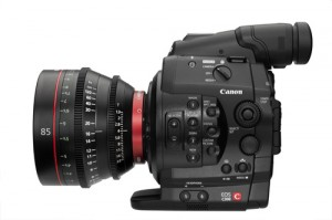 EOS C300_EF Mount_body_CN-E85mm T1.3 LF_LPsmall 2