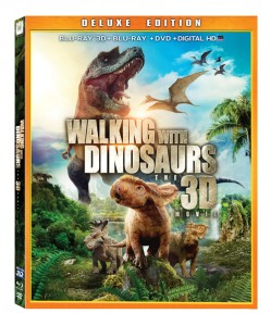 Walking With Dinosaurs 3D is now on Blu-ray and DVD.