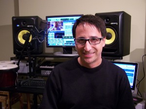 Audio pro and reviewer Ron DiCesare
