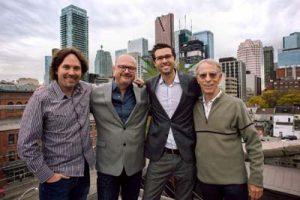 L-R: Chris Parker, Marcus Valentin, Marc Bachli, Rob Sim.