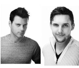 L-R: Emery Wells and John Traver.