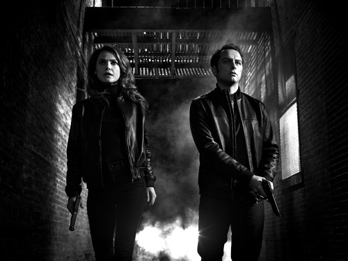 Cleaning, creating and mixing sounds for 'The Americans