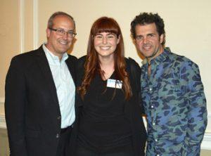 L-R: Andrew DeCristofaro, Ginge Cox  and Craig Mann.