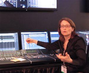 Michelle Garuik from LA-based Grind Music & Sound
