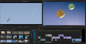 Premiere Pro's Workspace editing