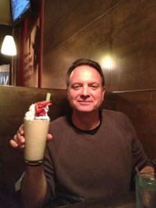 Jeff Edson, and milkshake