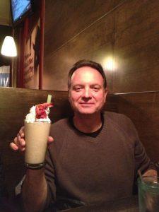 Jeff Edson, and milkshake