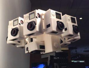 Eight Camera rig