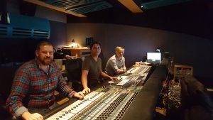L-R: Gilbert Lake, Steve Single and Alastair Sirkett.