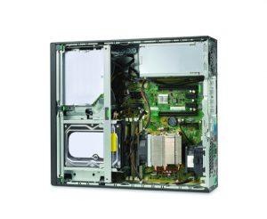 HP Z240 SFF's Interior