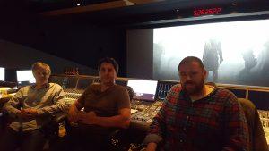 L-R Alastair Sirkett, Steve Single and Gilbert Lake.