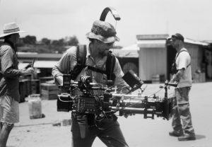 Cary Fukunago shooting with the Arri Alexa.