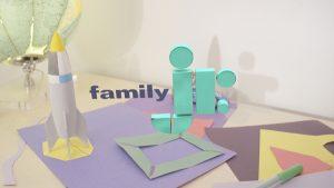 Roger's work on the Family Jr. rebrand.
