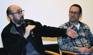 Sound designer David Esparza and supervising sound editor Mandell Winter