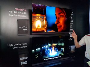 HDR broadcast at CES 2016.