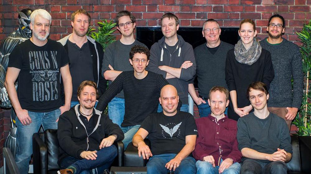 The Crytek audio team