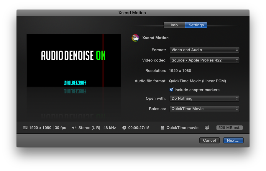 Review: FxFactory's AudioDenoise, EchoRemover, Xsend Motion