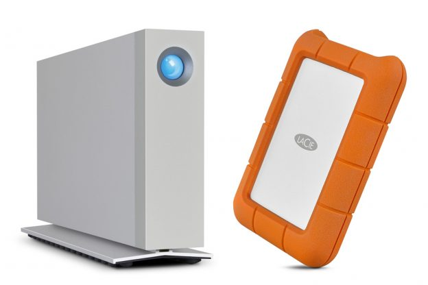 LaCie d2 and Rugged