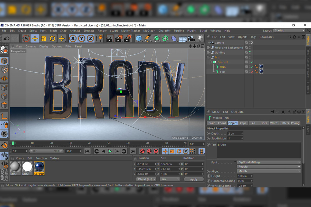 Review: Maxon Cinema 4D Studio Release 18 - postPerspective