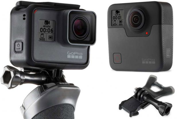 GoPro intros Hero6 and its first integrated 360 solution, Fusion