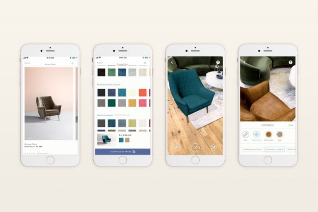 Working with anthropologie to build ar design app randi for Furniture layout app