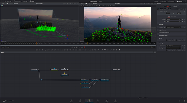 Blackmagic releases Resolve 15, with integrated VFX and