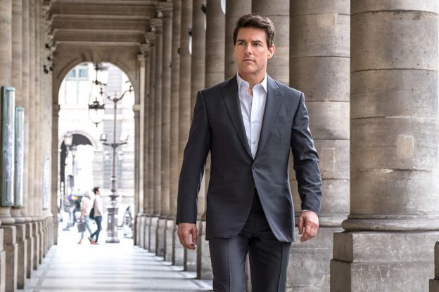 Tom Cruise in MISSION: IMPOSSIBLE - FALLOUT. Director Chris McQuarrie.
