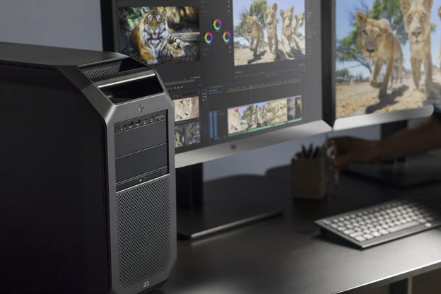 HP shows off new HP Z6 and Z8 G4 workstations at NAB