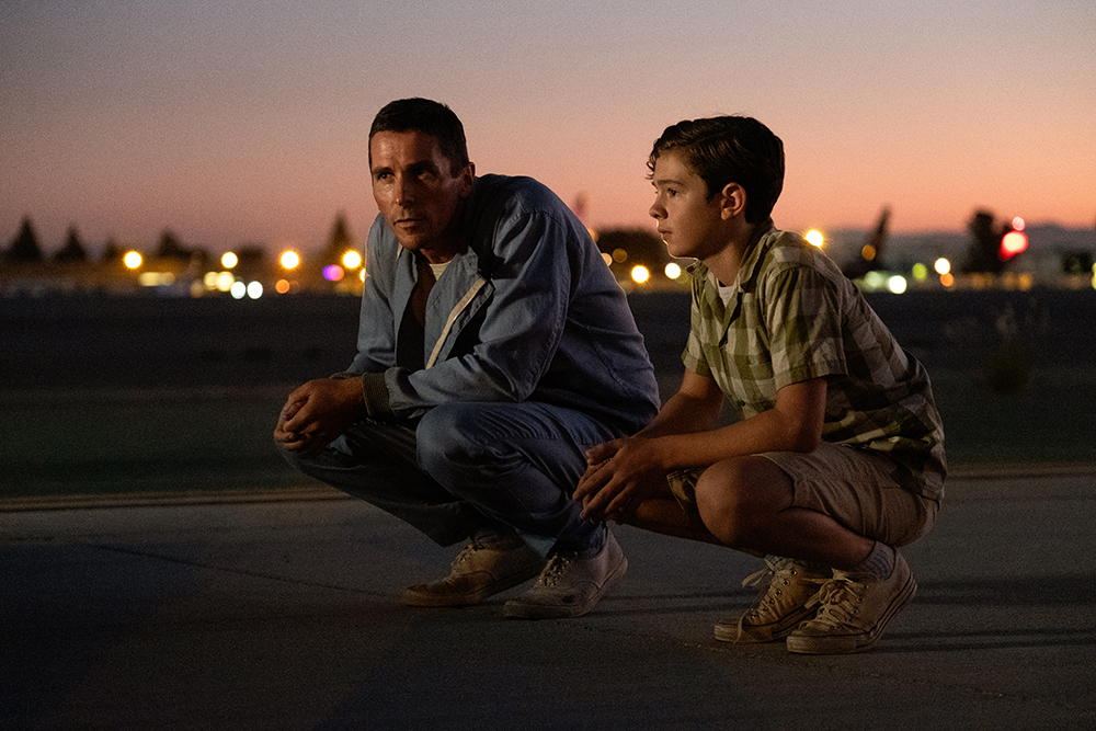 Christian Bale and Noah Jupe in Twentieth Century Fox's FORD V ...